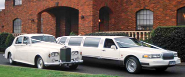 Limousine and Rolls Royce